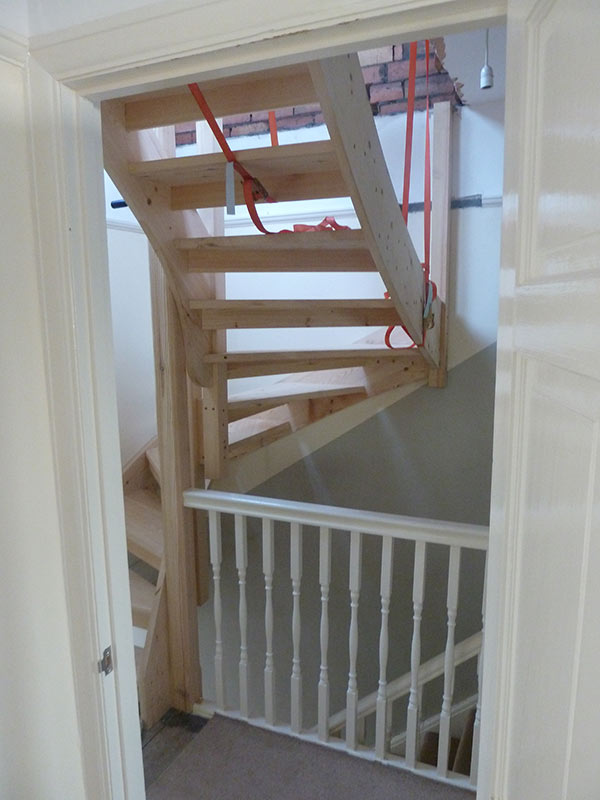 Stairs to loft conversion in Bristol